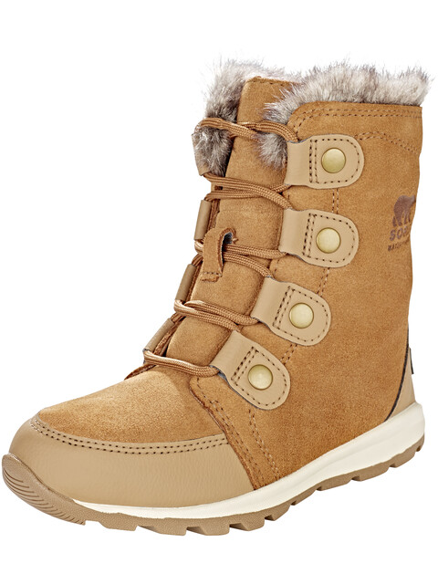 Sorel Kids Whitney Suede Boots Elk/Natural